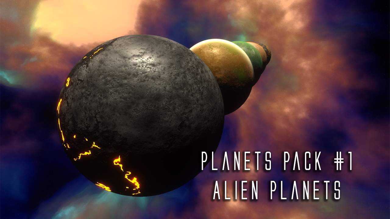 Released] Planets packs (Aliens, terrestrial, gazeous and moons